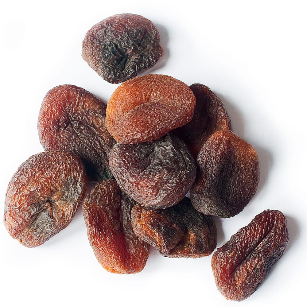Organic dried apricots Without bag