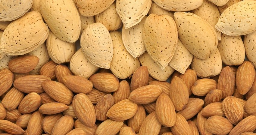 No part of almond is wasted.