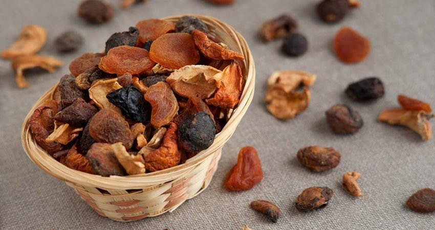 Dry Fruits Nutrition Value