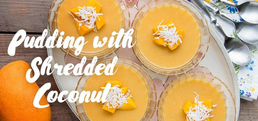 coconut granola pudding