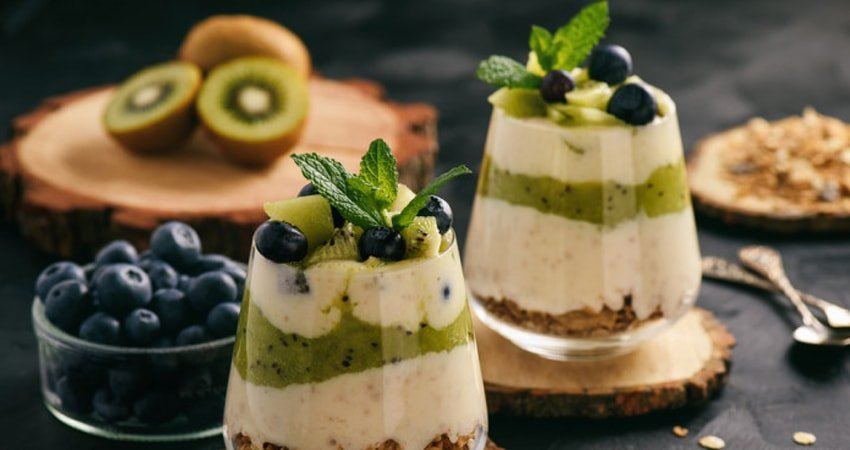 Share your dessert, or substitute it with fresh fruits