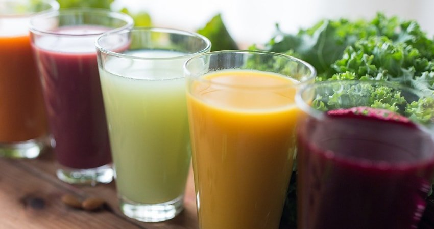 Don't forget about fresh juices
