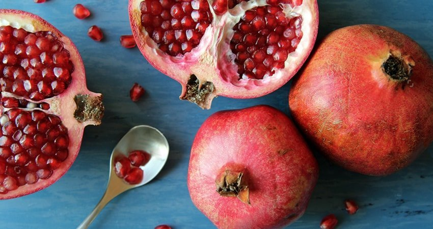 Pomegranate seeds as a wonderful weight-controller