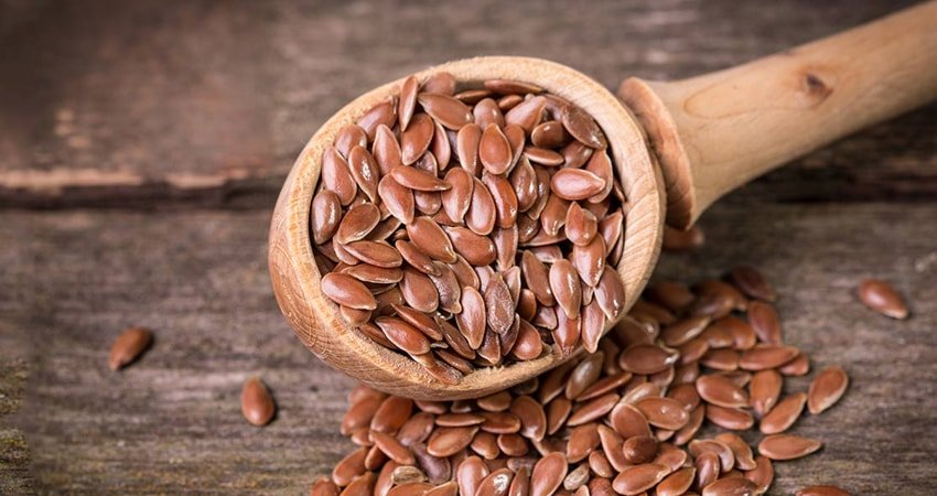 "Flax seeds as a great way to fight ""bad cholesterol"" and control the blood sugar"