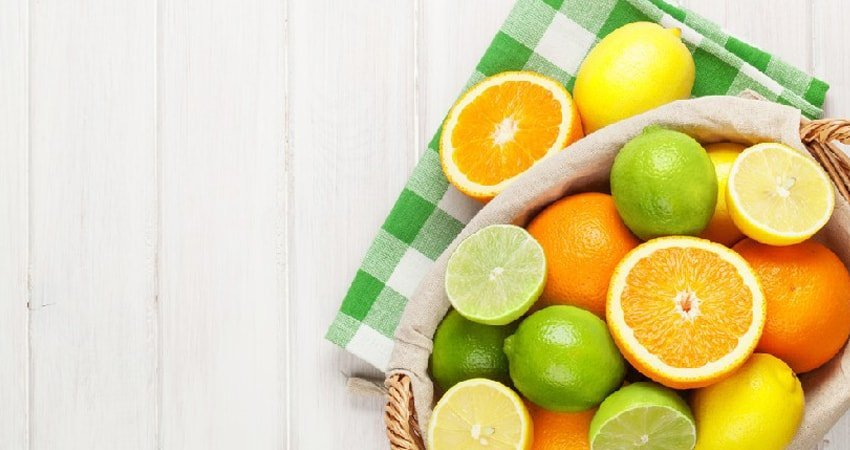 Daily intake of citrus fruits