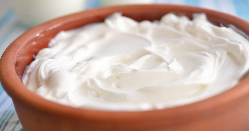 Strained yogurt