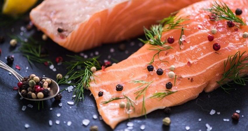 Choosing fatty fish