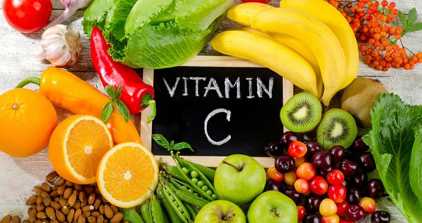 Foods rich in vitamin C