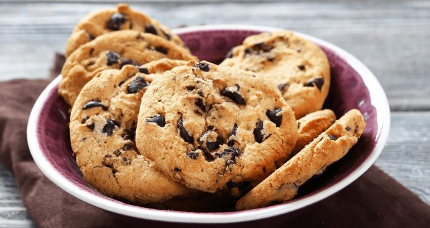 Chocolate Chip Cookies Made with Almond Flour