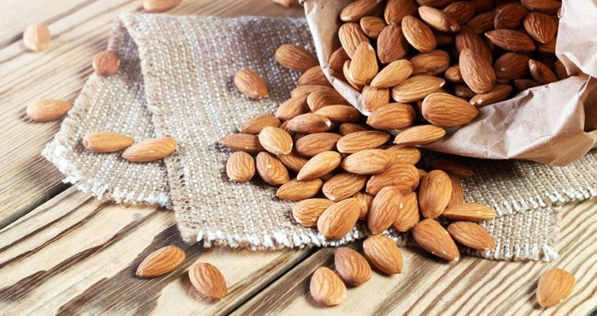 Almonds are the best nuts for gut health