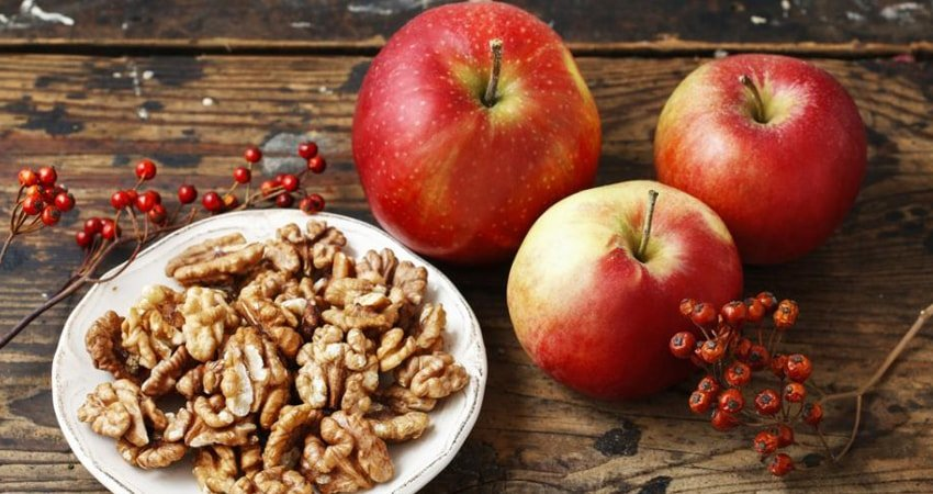 Apples and Walnuts