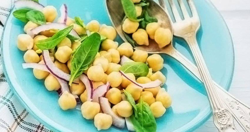 Chickpeas and Onions