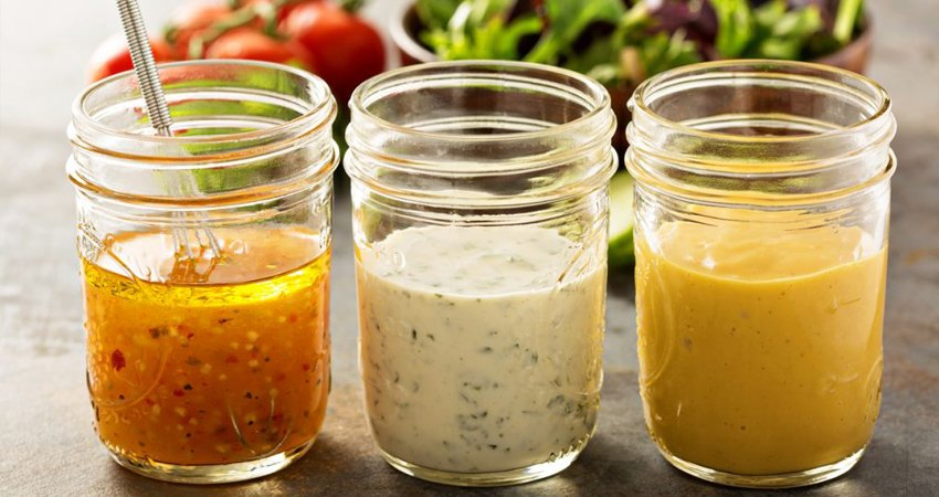 Condiments and salad dressings