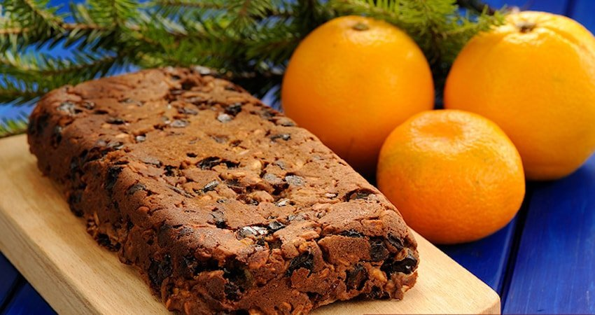 Traditional Vegan Christmas Fruitcake