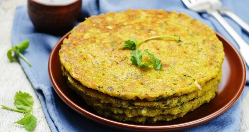 Lentil and Mung Bean Omelet for a Typical Gluten-Free Diet