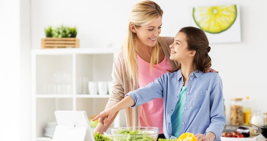 Keep Your Teen Healthy Through a Vegetarian Diet