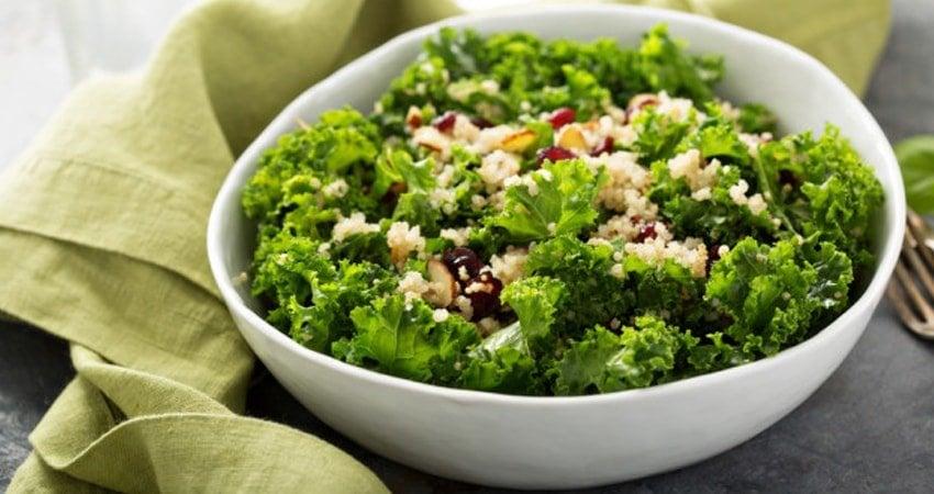 Coconut Quinoa with Kale