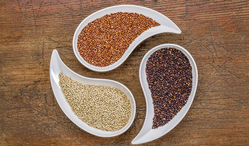 Red balck and white Quinoa