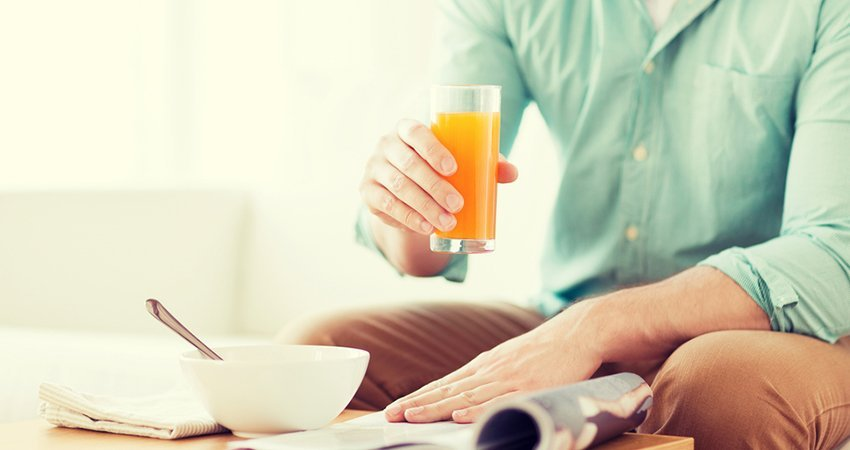 Orange Juice in the Morning: Types