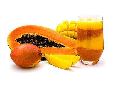 Papaya Mango Smoothie