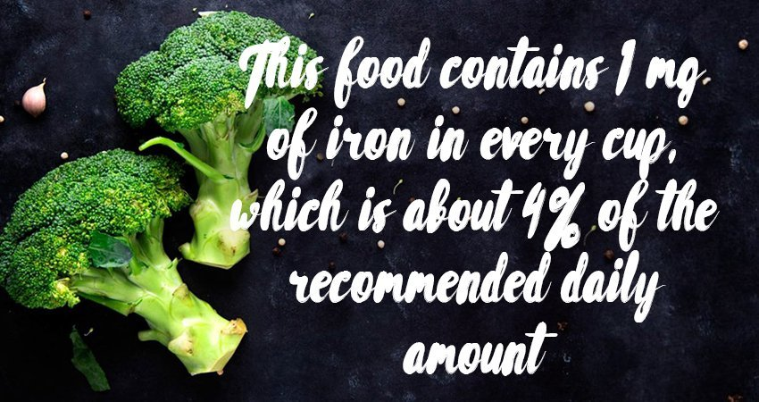 Iron Content of Broccoli: Why Does It Matter