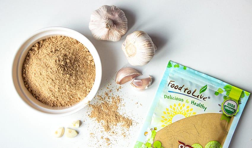 garlic powder vs fresh garlic