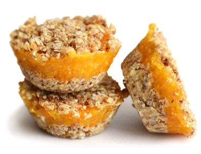 No Bake Apricot Tarts
