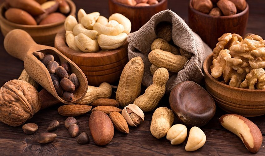 Eat a handful of nuts every day