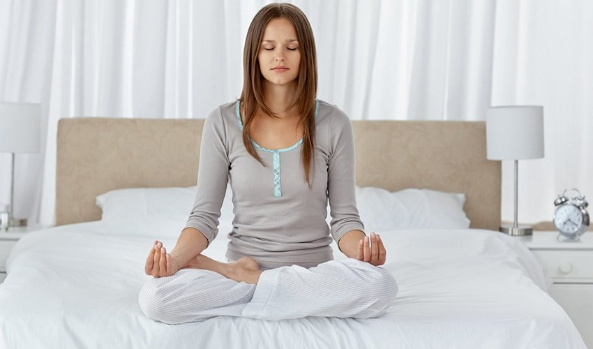 Meditate for 10 minutes every day