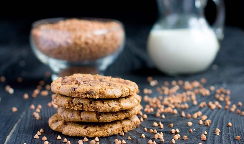 Simple Buckwheat Flour Gluten-Free Cookies