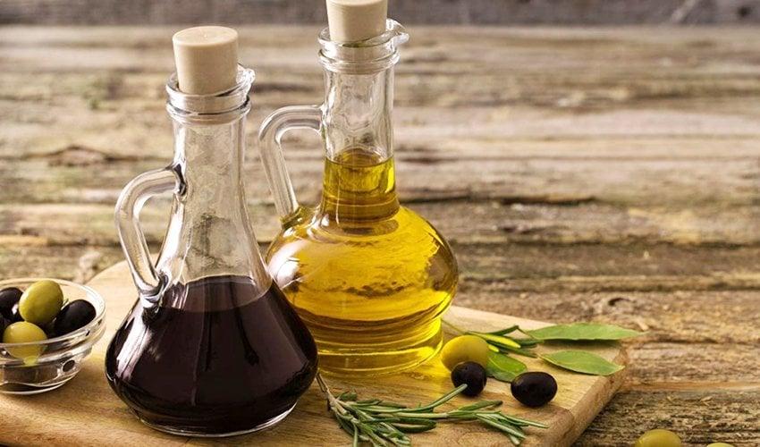 Balsamic Vinegar to Olive Oil
