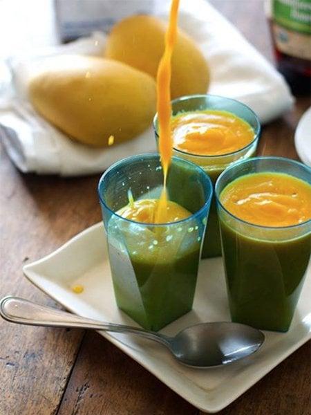 Papaya Mango Smoothie