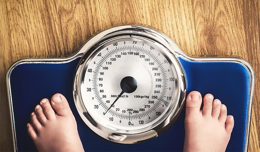 Tips on how to help children lose the excess weight
