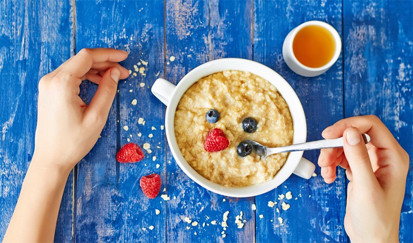 Oats helps you lose weight
