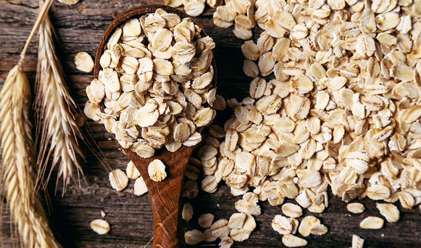 Oat. Relives constipation