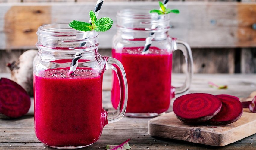 Berry Red Smoothies