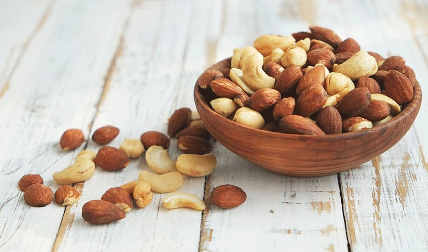 Cashews Almonds