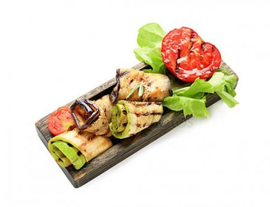 Grilled Vegetables with Soy Sauce