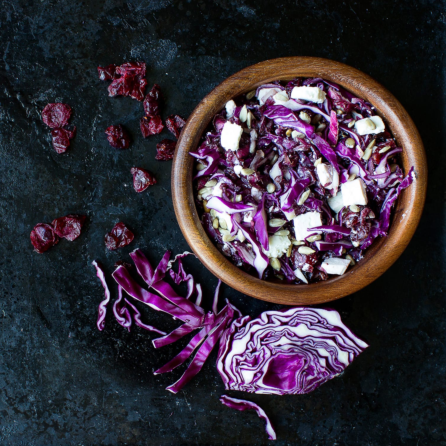 Cabbage and Cranberry Salad