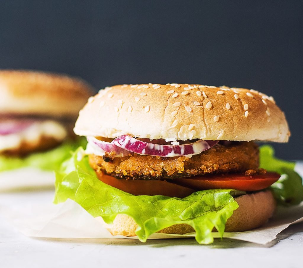 Easy Vegan White Bean Burgers