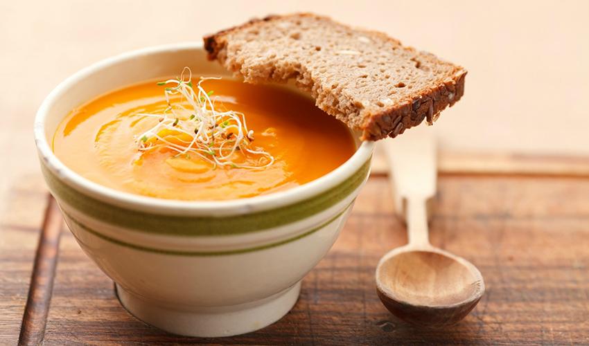 Pumpkin Soup Carrots Potatoes