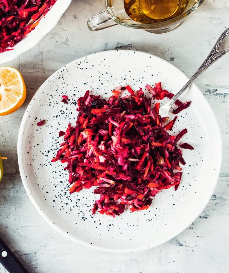 Beet Carrot&Apple Salad
