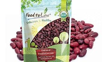 Organic Dark Red Kidney Beans