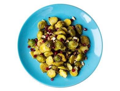 Agave Orange Roasted Brussels Sprouts