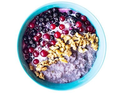 Blueberry Millet Porridge