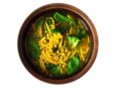 Turmeric Noodle Soup
