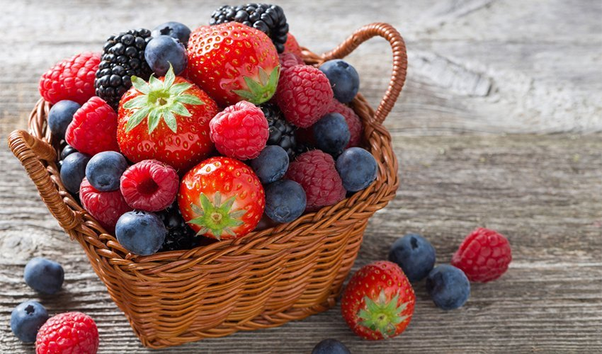 Berries Good for many diets