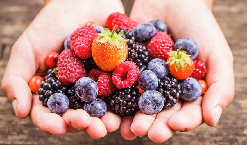 Berries High in fiber