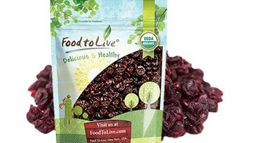 Organic Montmorency Dried Cherries