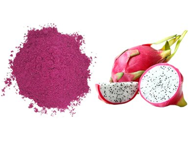 The difference between fruit powders and fresh fruit